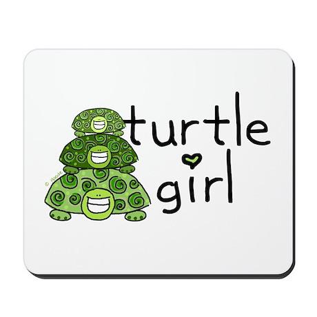 turtle girl Mousepad