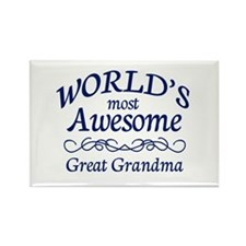 Great Grandma Rectangle Magnet