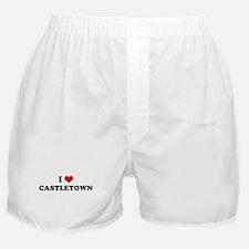 I HEART CASTLETOWN  Boxer Shorts