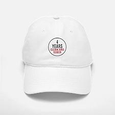 4 Years Clean & Sober Baseball Baseball Cap