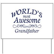 Grandfather Yard Sign