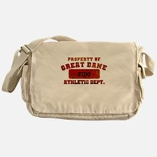Personalized Prop of Great Dane Messenger Bag