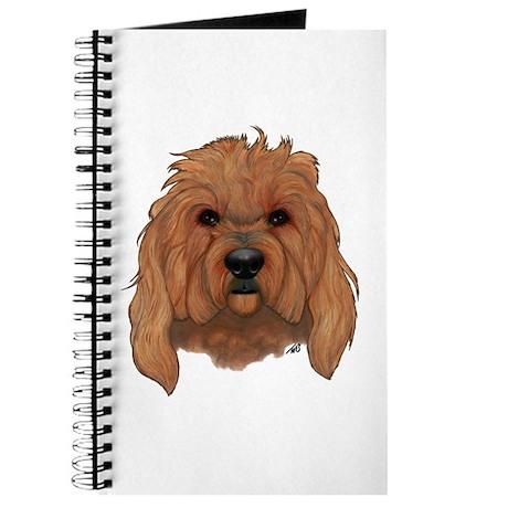 Golden Doodle Dog Journal