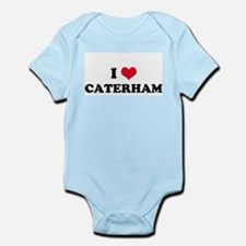 I HEART CATERHAM  Infant Creeper