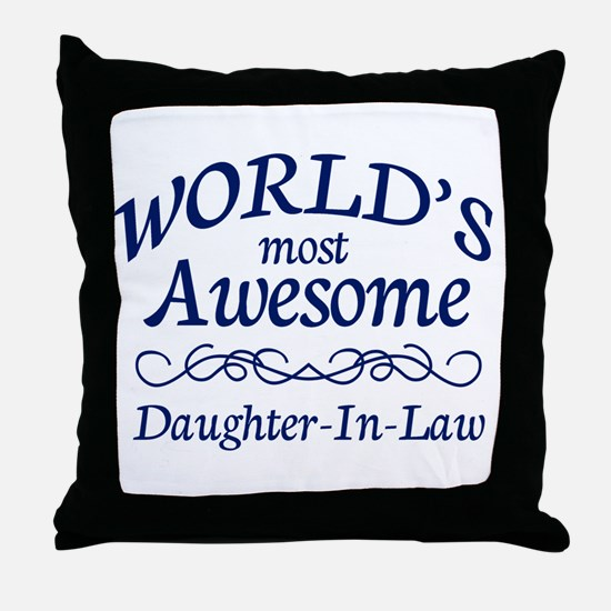 Daughter-In-Law Throw Pillow