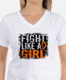 Licensed Fight Like a Girl Shirt