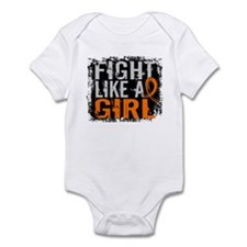 Licensed Fight Like a Girl 31.8 RS Infant Bodysuit