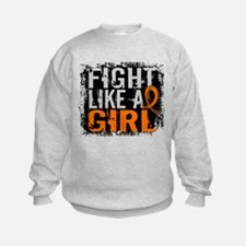 Licensed Fight Like a Girl 31.8 RS Sweatshirt