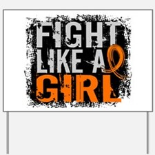 Licensed Fight Like a Girl 31.8 RSD Yard Sign