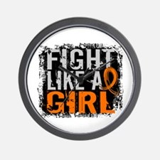 Licensed Fight Like a Girl 31.8 RSD Wall Clock