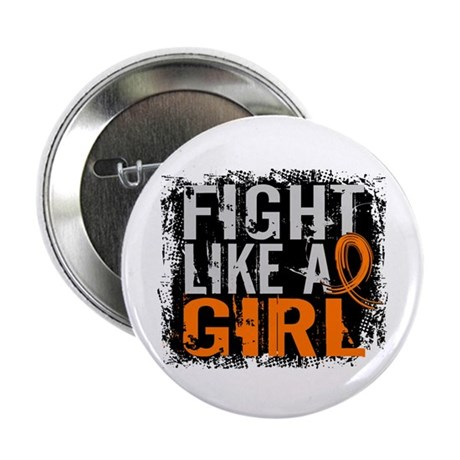 """Licensed Fight Like a Girl 2.25"""" Button (10 pack)"""