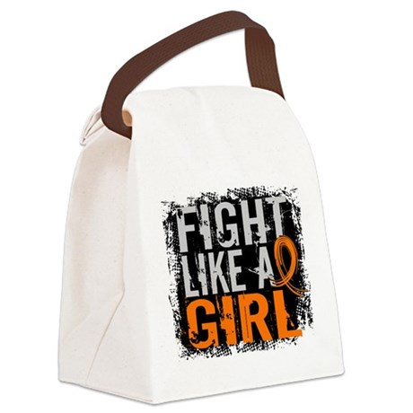 Licensed Fight Like a Girl 31.8 R Canvas Lunch Bag