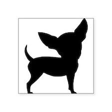 Funny Cute Chihuahua Rectangle Sticker