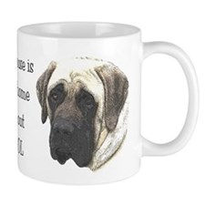 Cute English mastiff Mug
