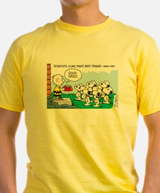 Snoopy and Cloning T-Shirt