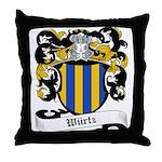Würtz Coat of Arms Throw Pillow