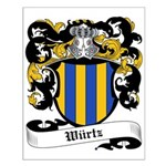 Würtz Coat of Arms Small Poster