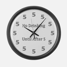 Cool Beers Large Wall Clock