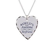 Boyfriend Necklace Heart Charm