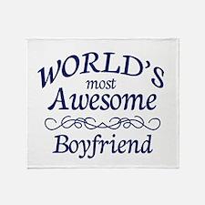 Boyfriend Throw Blanket
