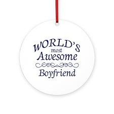 Boyfriend Ornament (Round)