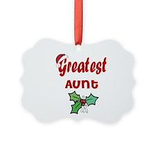 Cute %231 aunt Ornament