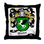Winter Coat of Arms Throw Pillow