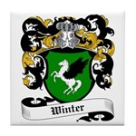 Winter Coat of Arms Tile Coaster