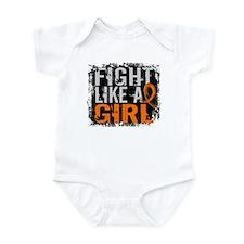 Licensed Fight Like a Girl 31.8 Le Infant Bodysuit