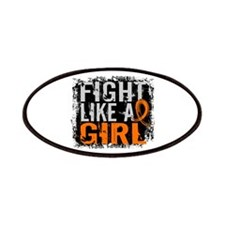 Licensed Fight Like a Girl 31.8 Leukemia Patches