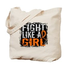 Licensed Fight Like a Girl 31.8 Leukemia Tote Bag