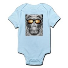 Bigfoot In Shades Infant Bodysuit