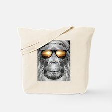 Bigfoot In Shades Tote Bag