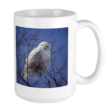 Snowy White Owl Large Mug