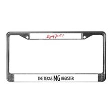 Safety Fast & TMGR License Plate Frame