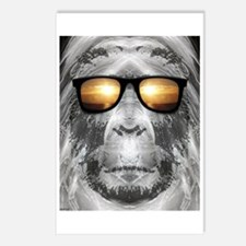 Bigfoot In Shades Postcards (Package of 8)
