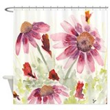 Flowers Shower Curtains