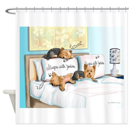 sleeps Shower Curtain