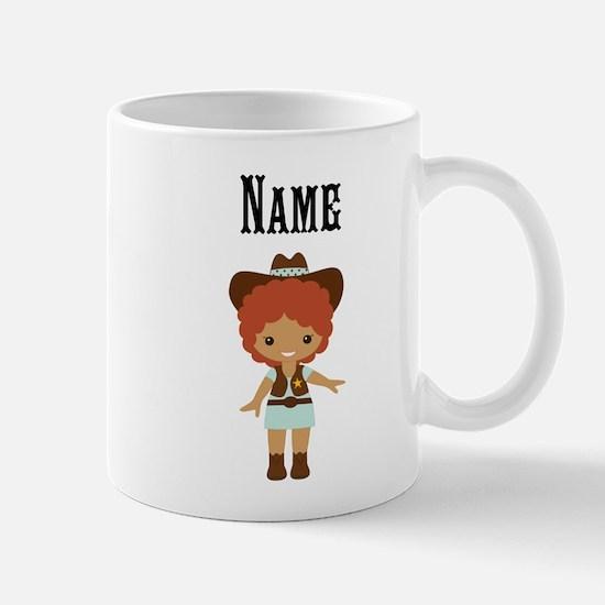 African American Cowgirl Mug