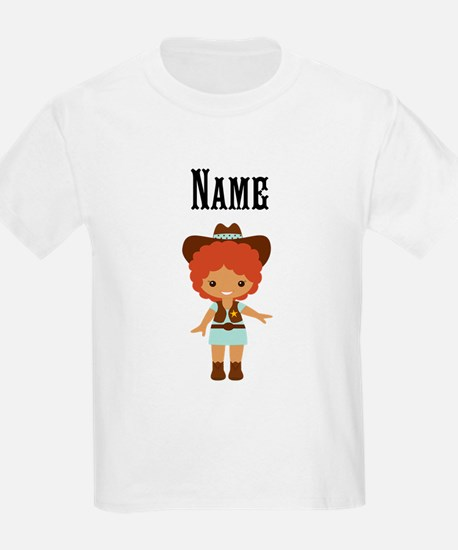 African American Cowgirl T-Shirt