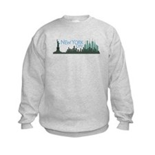 NYC Liberty Skyline dark Sweatshirt