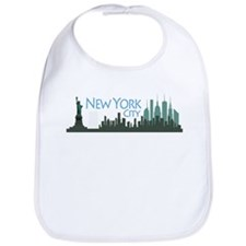 NYC Liberty Skyline dark Bib