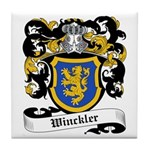 Winckler Coat of Arms Tile Coaster