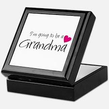 I'm going to be a Grandma! Keepsake Box