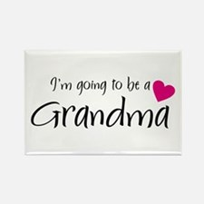 I'm going to be a Grandma! Rectangle Magnet