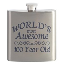 Awesome 100 Year Old Flask