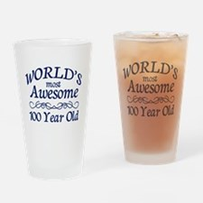 Awesome 100 Year Old Drinking Glass