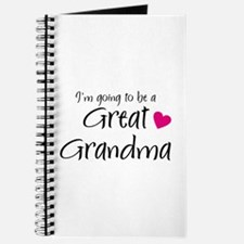 I'm going to be a Great Grandma! Journal
