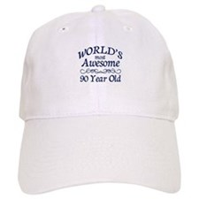 Awesome 90 Year Old Baseball Cap