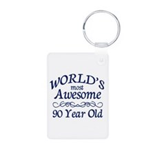 Awesome 90 Year Old Keychains